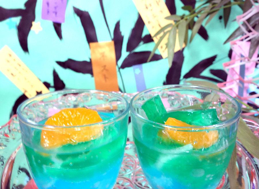 仙台流の七夕祭りのジュース