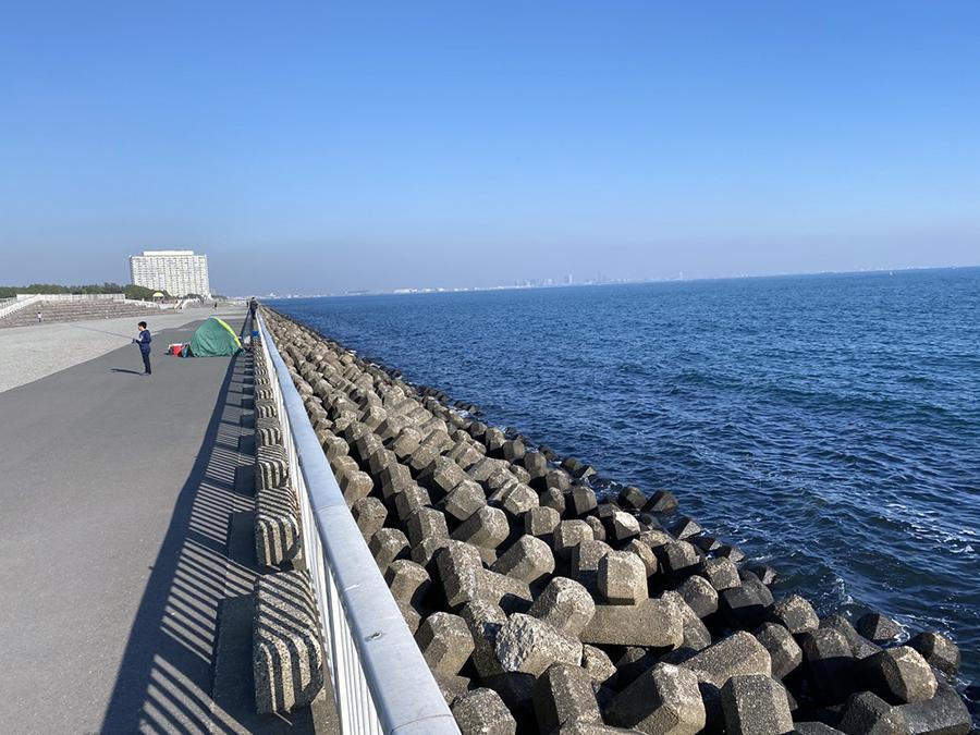 海が見たくなったんで